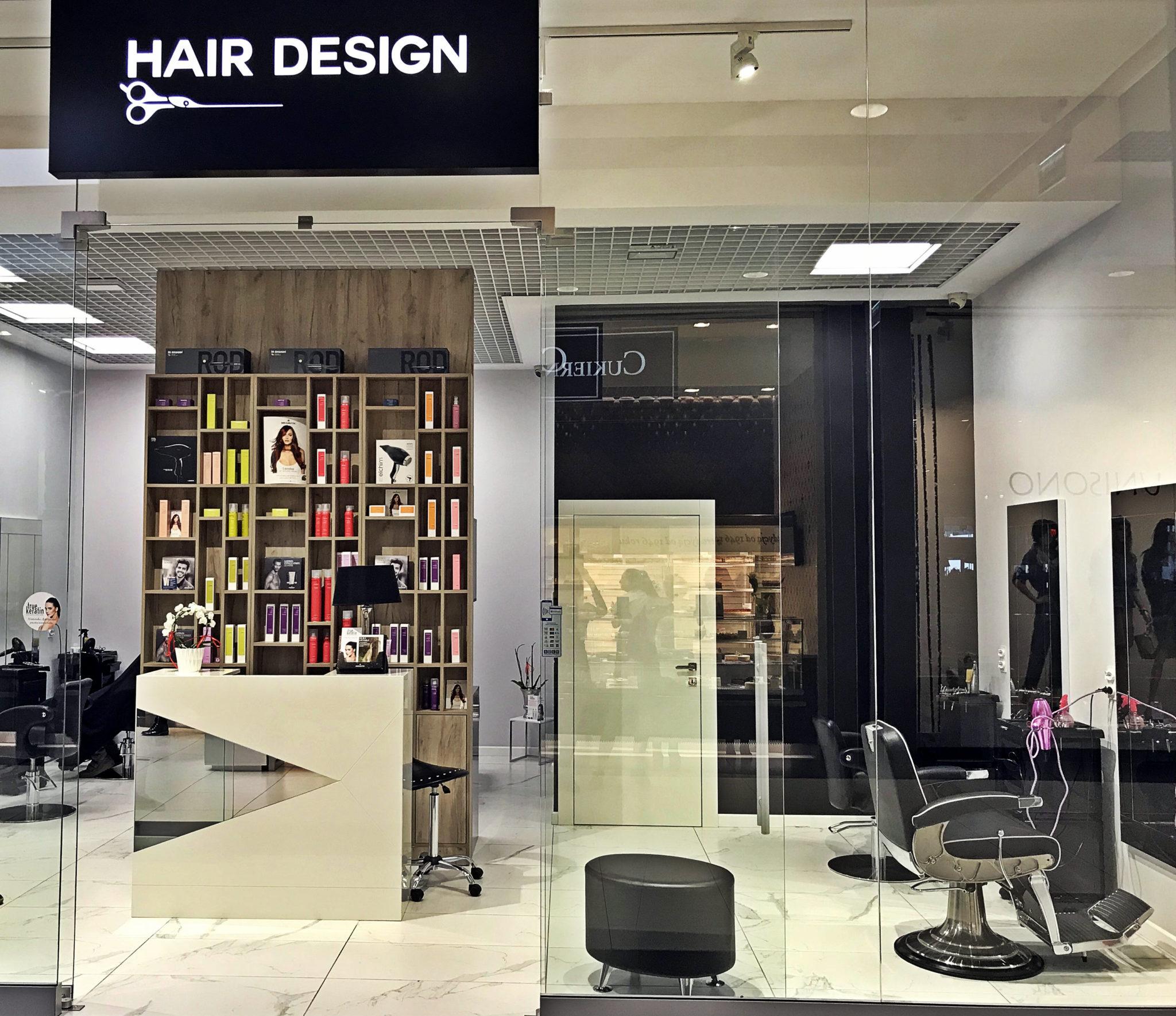 Salon Fryzjerski Hair Design Outlet Park Szczecin