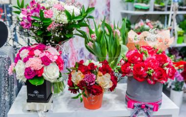Bukiet Kwiatów naWalentynki