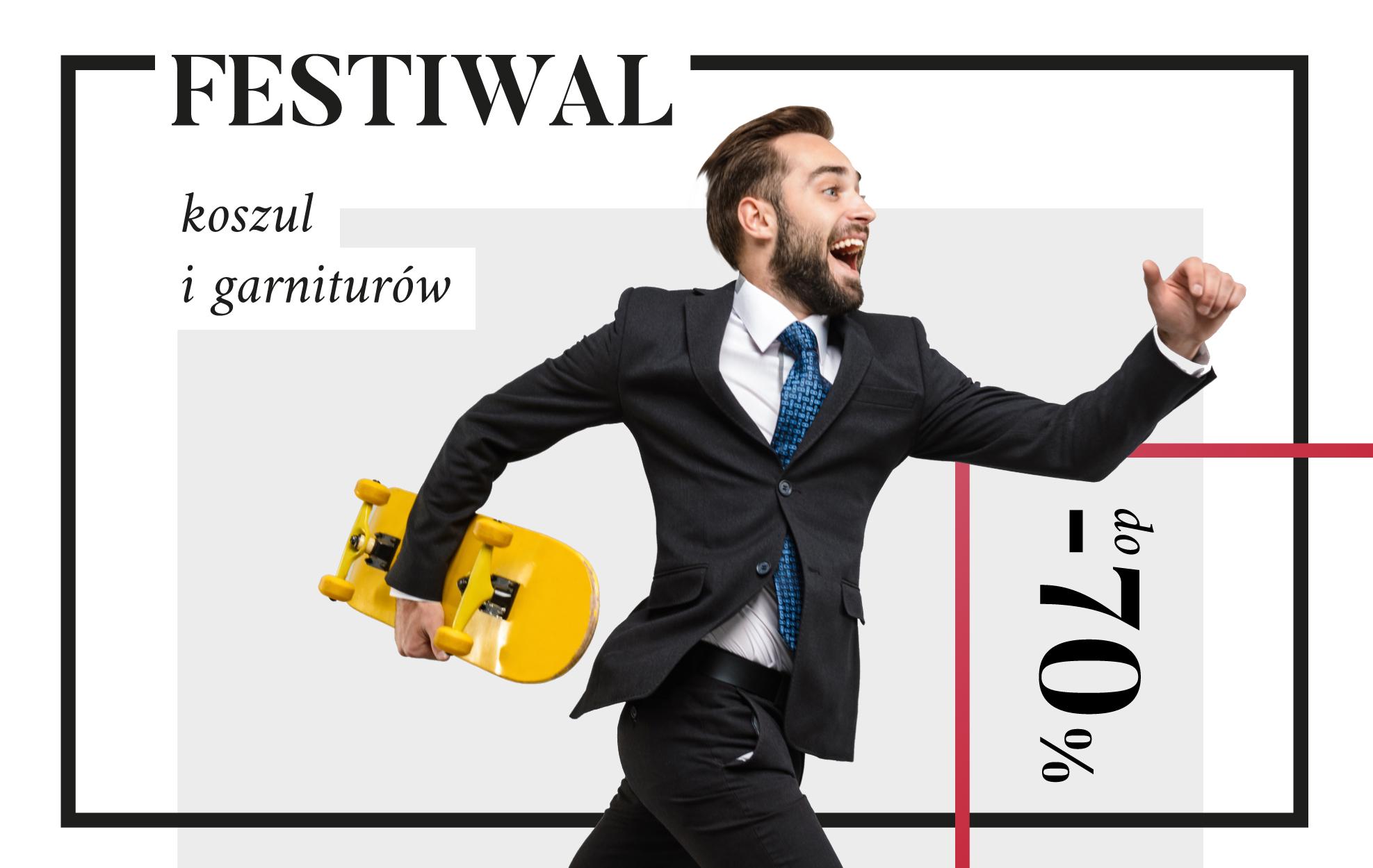 Festiwal koszul i garniturów