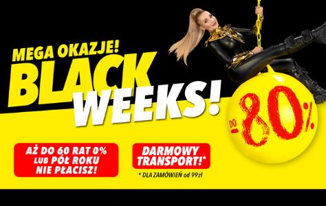 Black Weeks! Nawet do-80%!