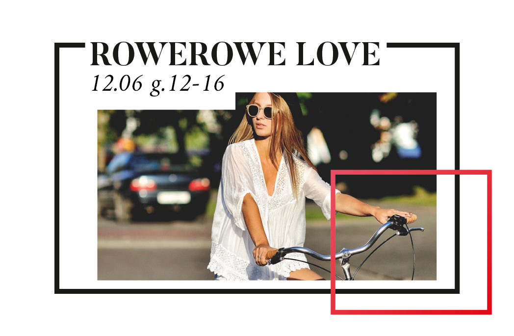 Rowerowe LOVE wOutlecie